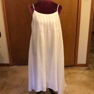 Dresses & Skirts - Beautiful, perfect white linen sundress